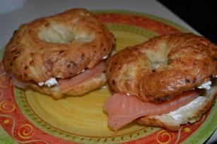 bagel saumon howard big bang theory