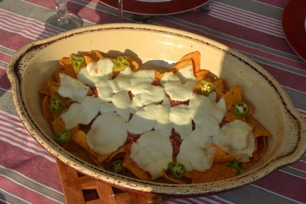 nachos brad happy endings recettes séries