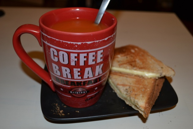 Soupe tomate sandwich fromage modern family