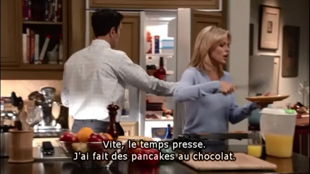 pancakes au chocolat claire modern family