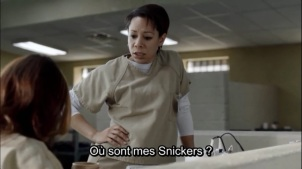 snickers oitnb
