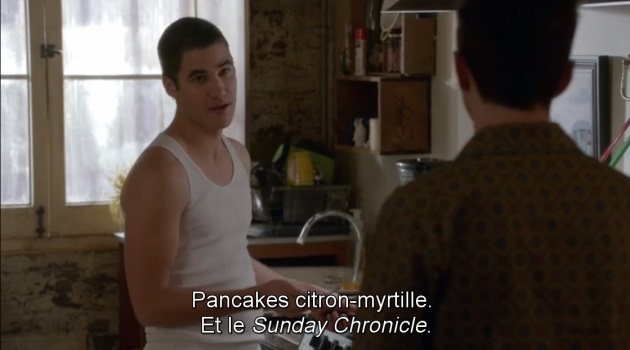 glee pancakes citron myrtilles