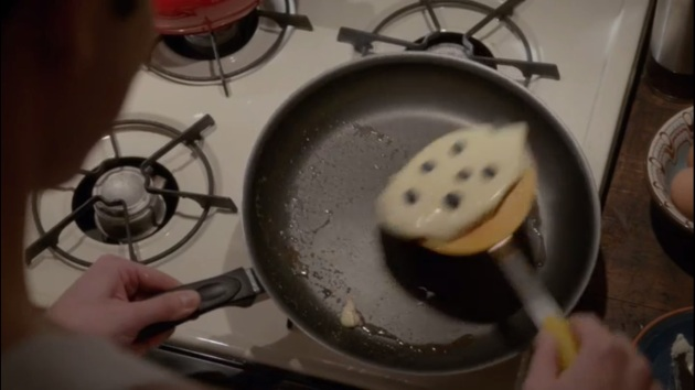 pancakes citron myrtilles glee